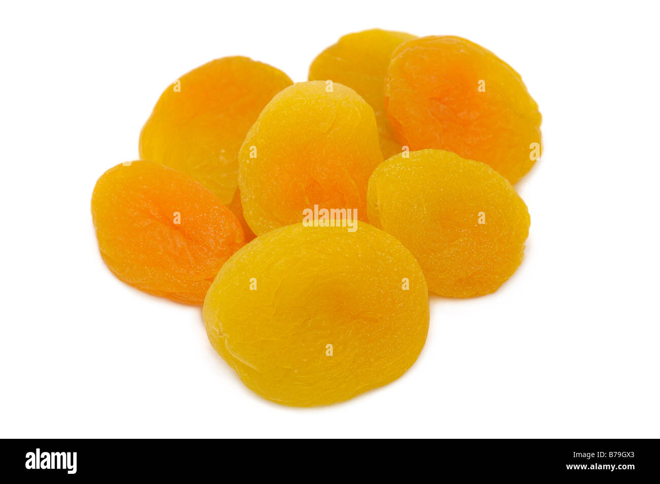 Dried Apricots - Stock Image