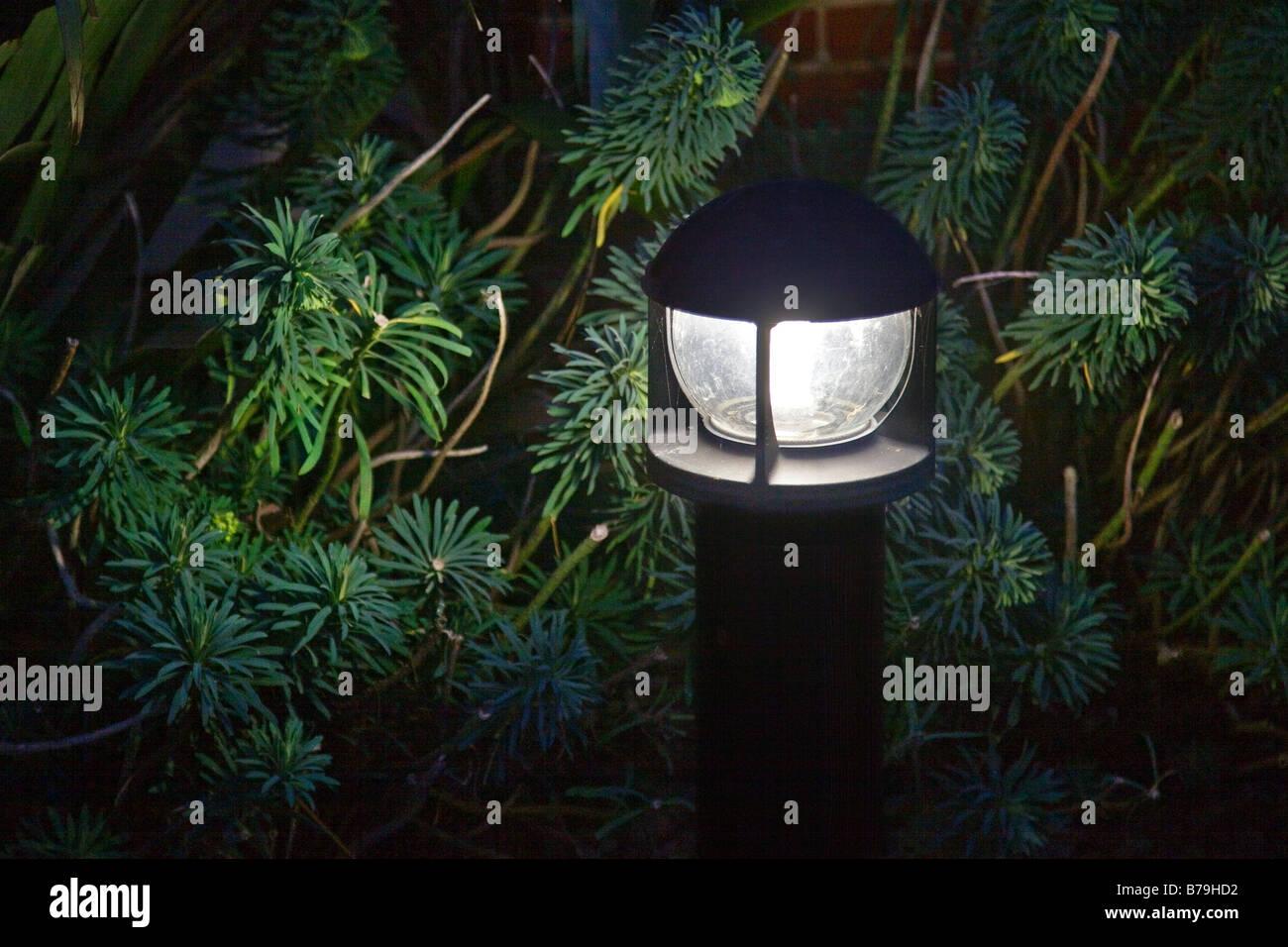 Garden light - Stock Image