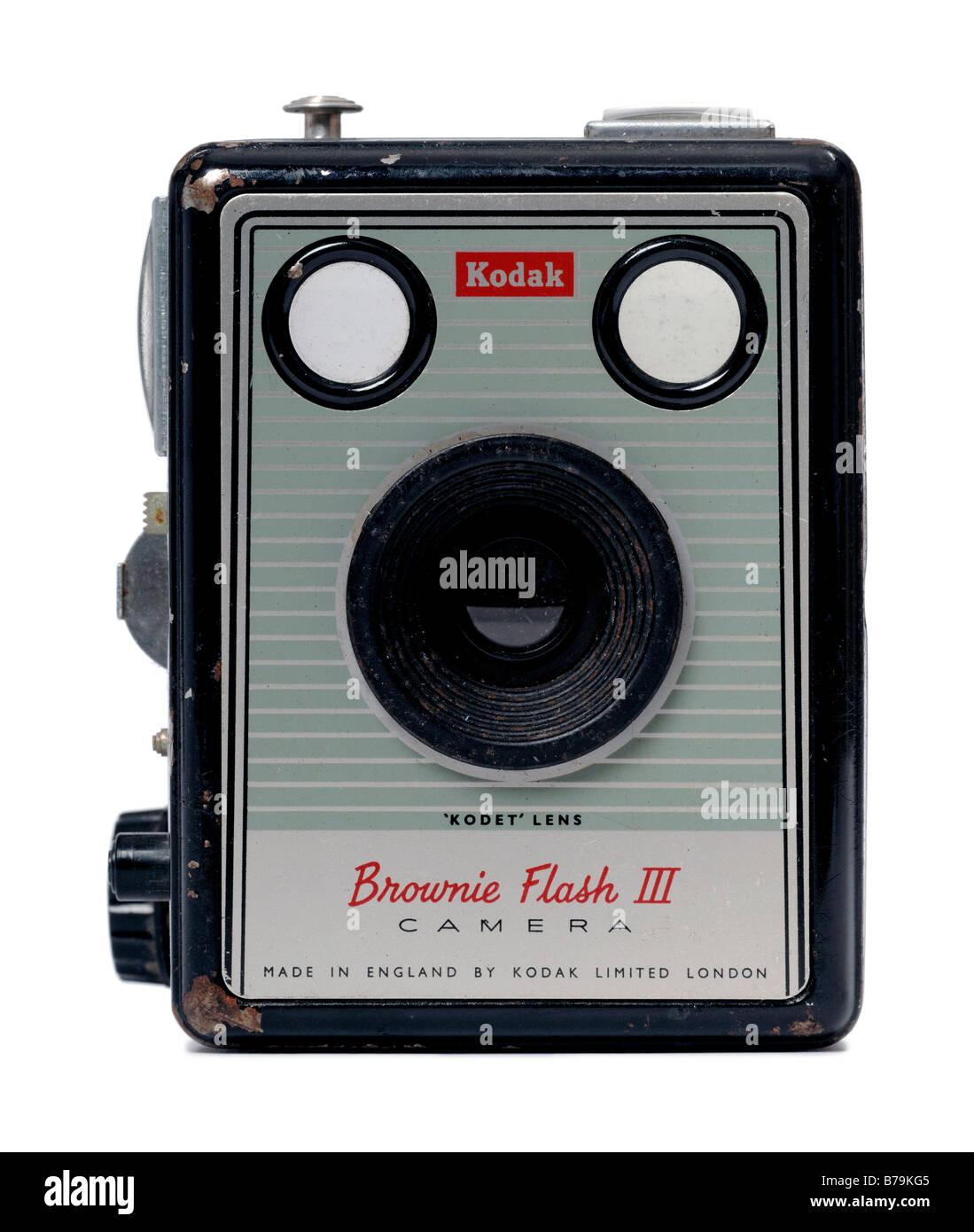 Kodak Brownie Flash camera - Stock Image
