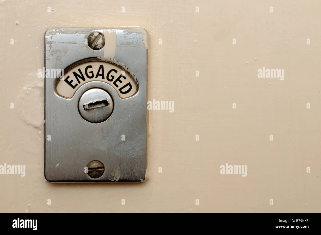 Toilet Door Lock High Resolution Stock Photography And Images Alamy