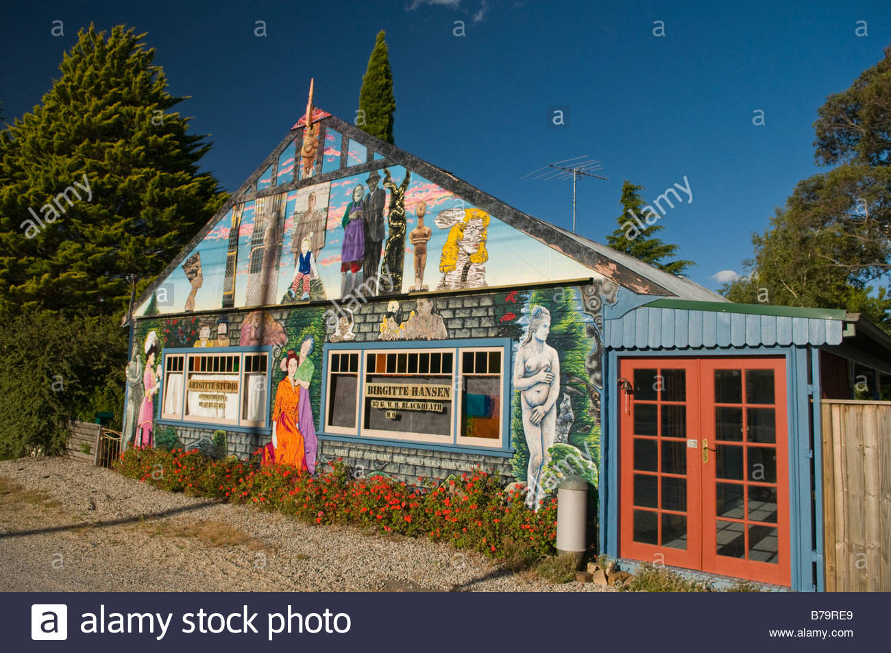 Antique store in  Blue Mountains NSW Australia - Stock Image