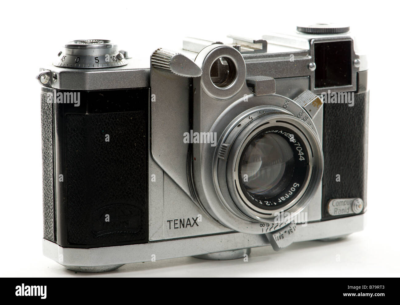 Tenax II rangefinder camera from the late 1930s made by Zeiss - Stock Image