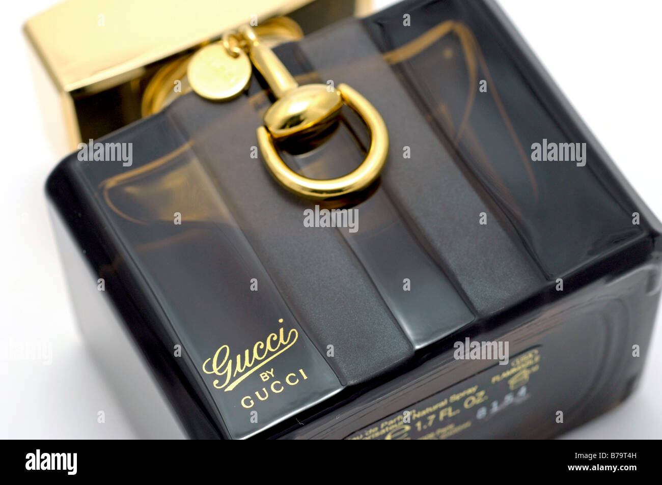 Bottle of Gucci by Gucci perfume - Stock Image