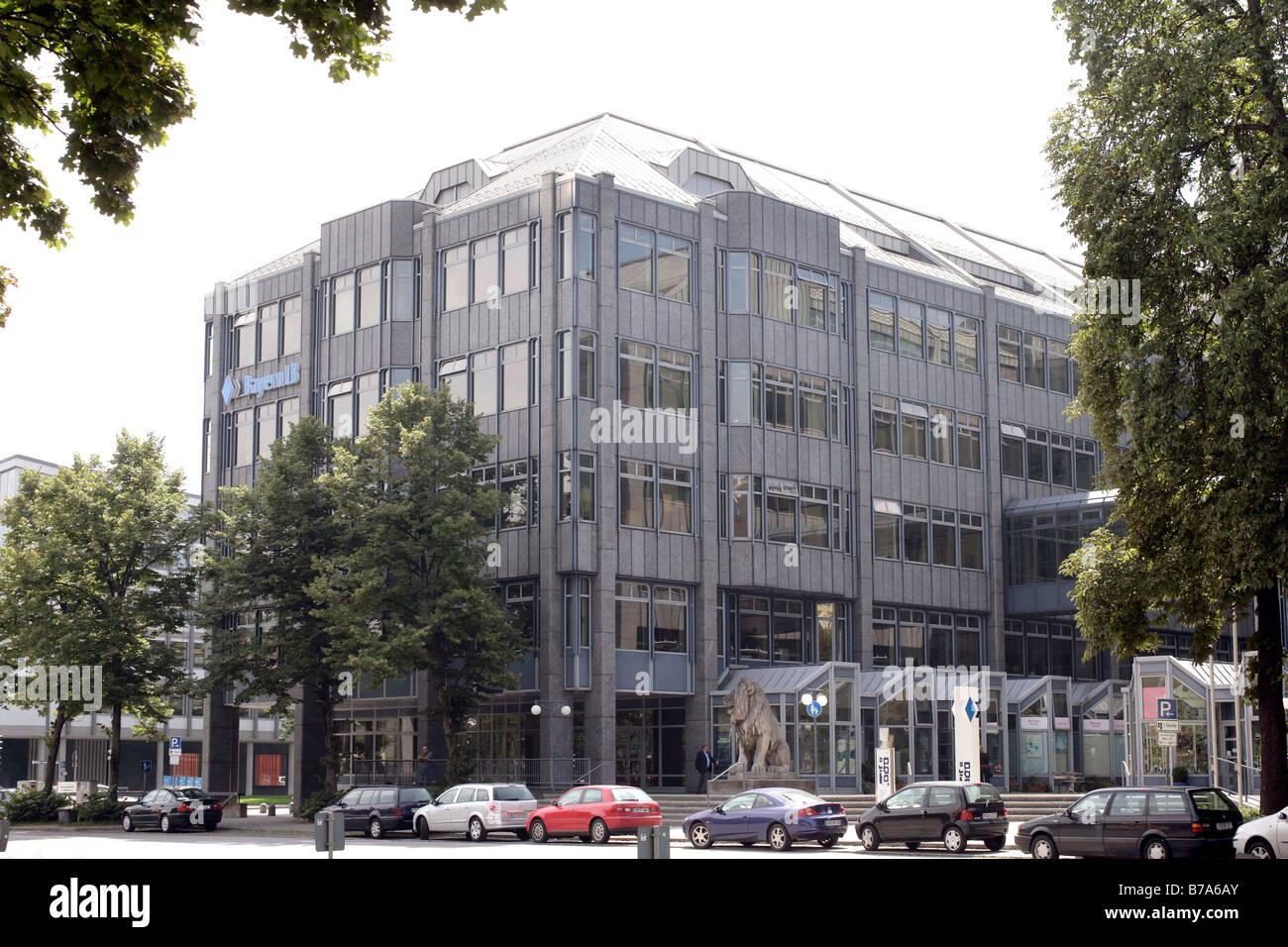 Bayern LB Bank Headquarters in Munich, Bavaria, Germany, Europe - Stock Image