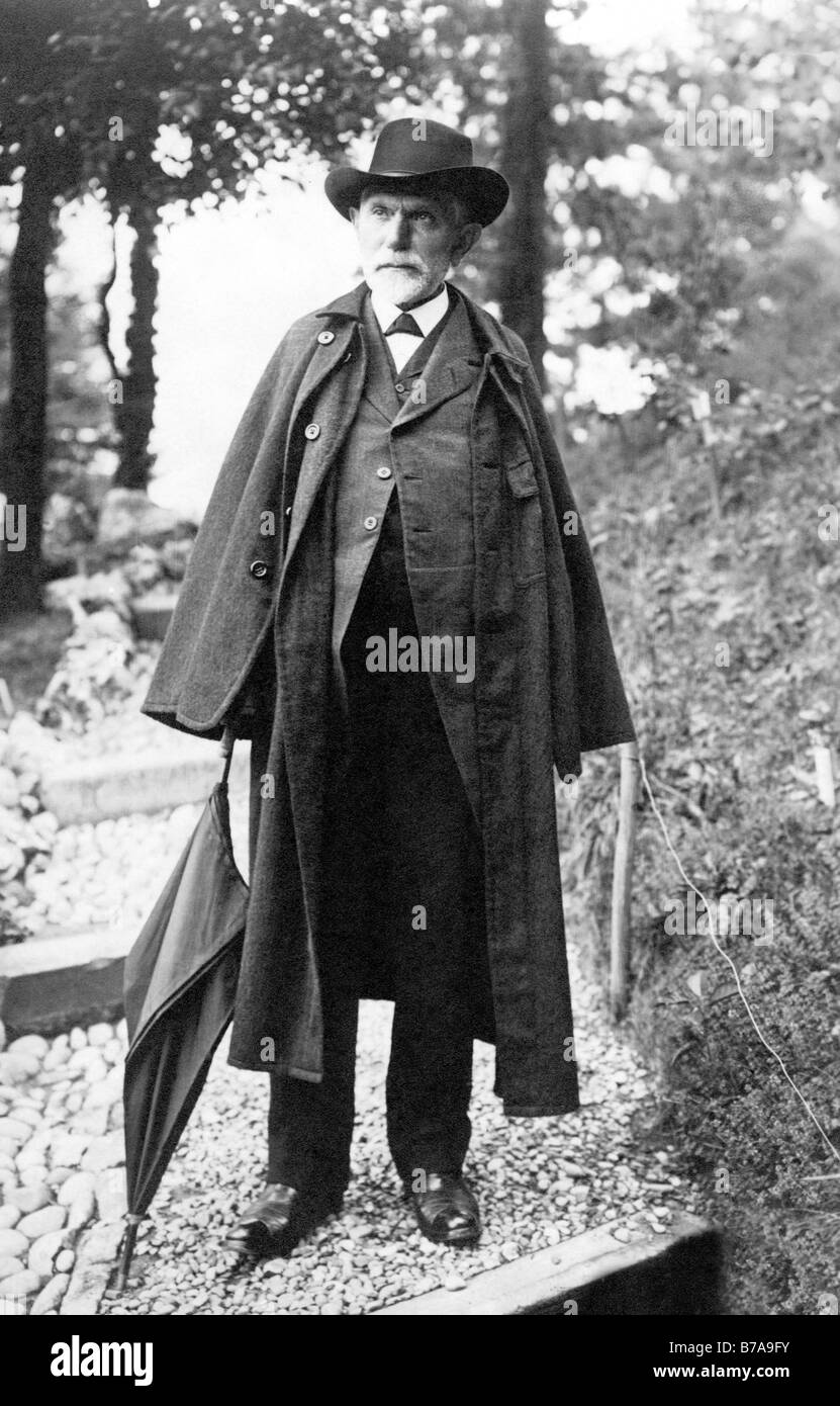 Historic photo, August Bebel, co-founder of the German social democratic party, social democrat - Stock Image