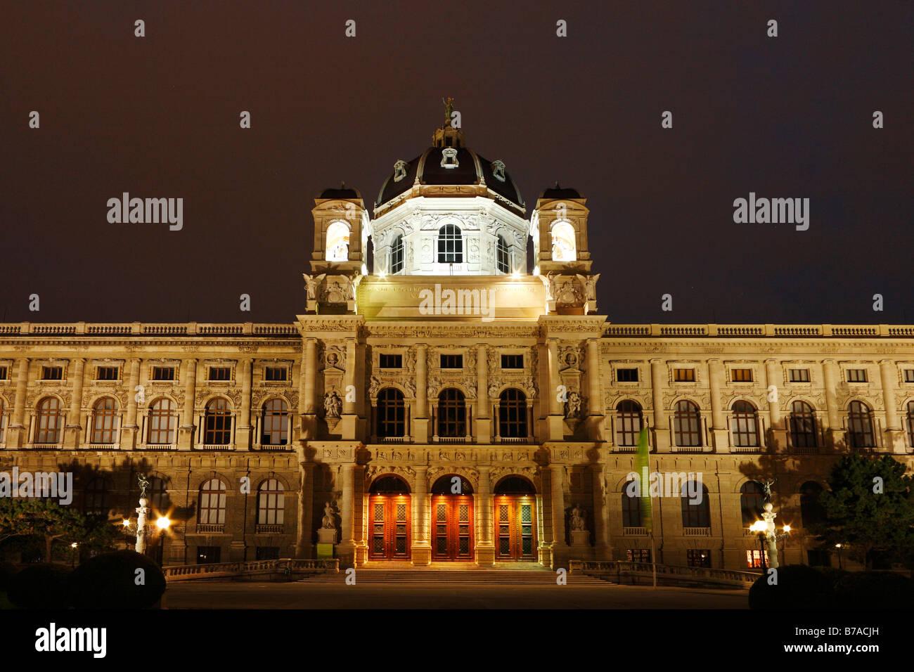 Museum of Art History, Kunsthistorisches Museum, Maria-Theresien-Platz, Vienna, Austria, Europe Stock Photo