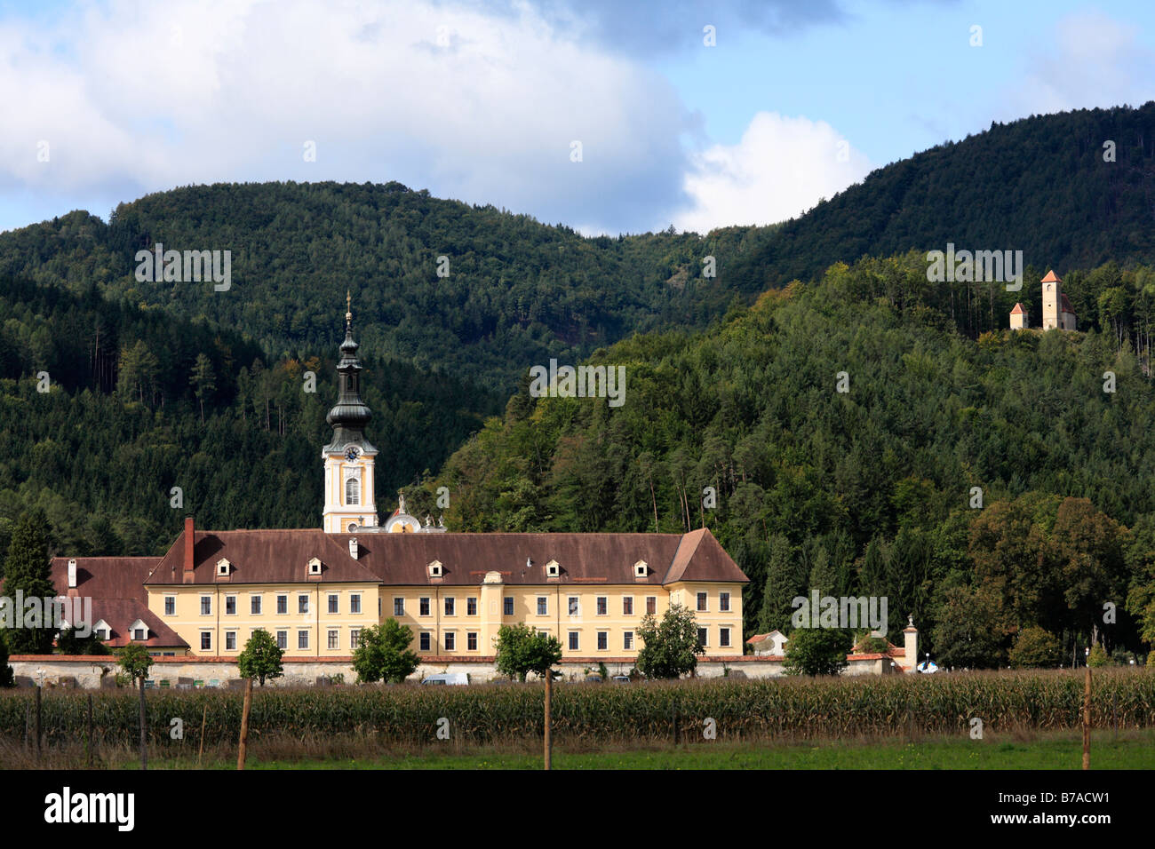 Cistercian Rein monastery, Styria, Austria, Europe - Stock Image