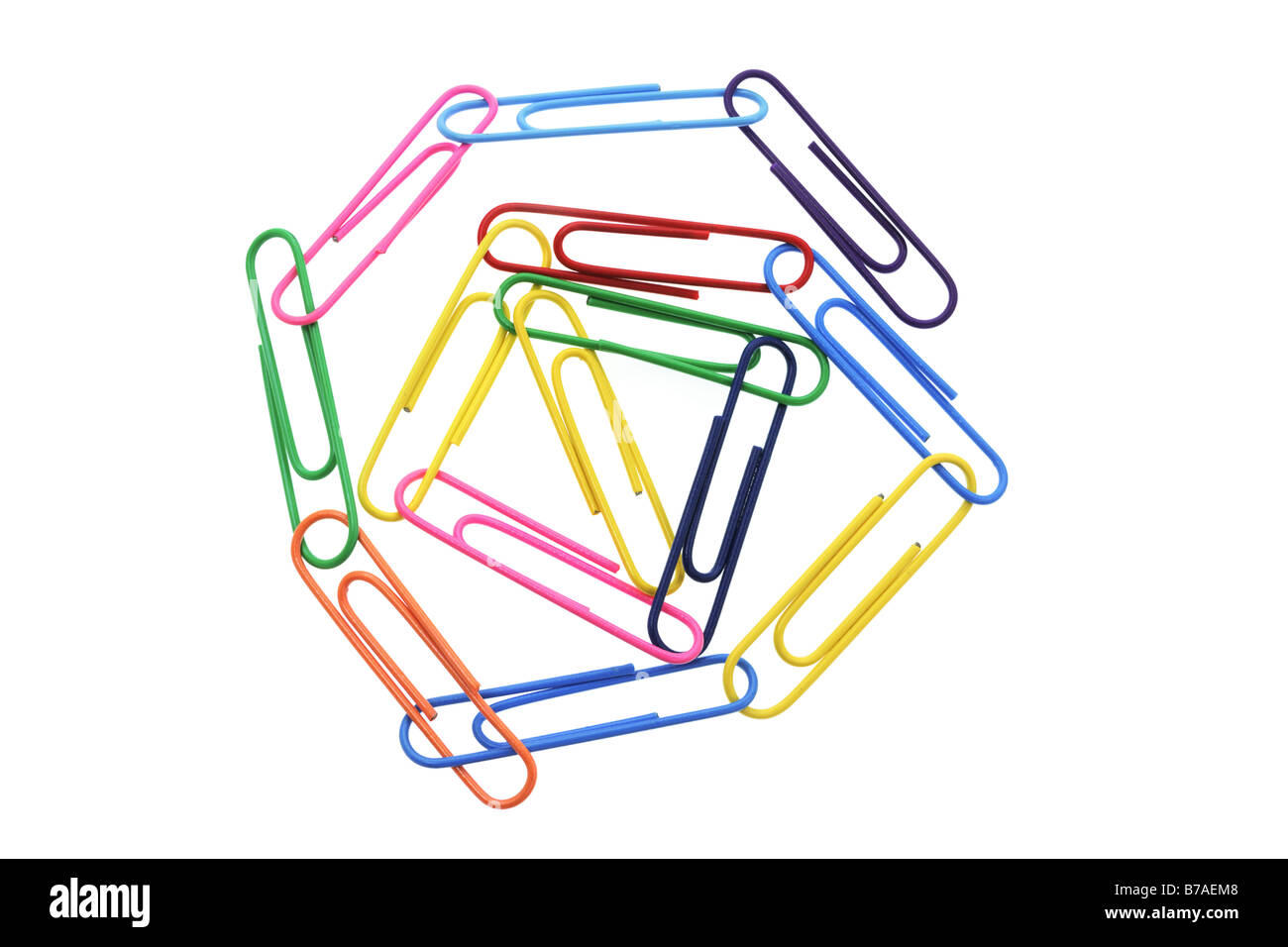 Paper Clips - Stock Image