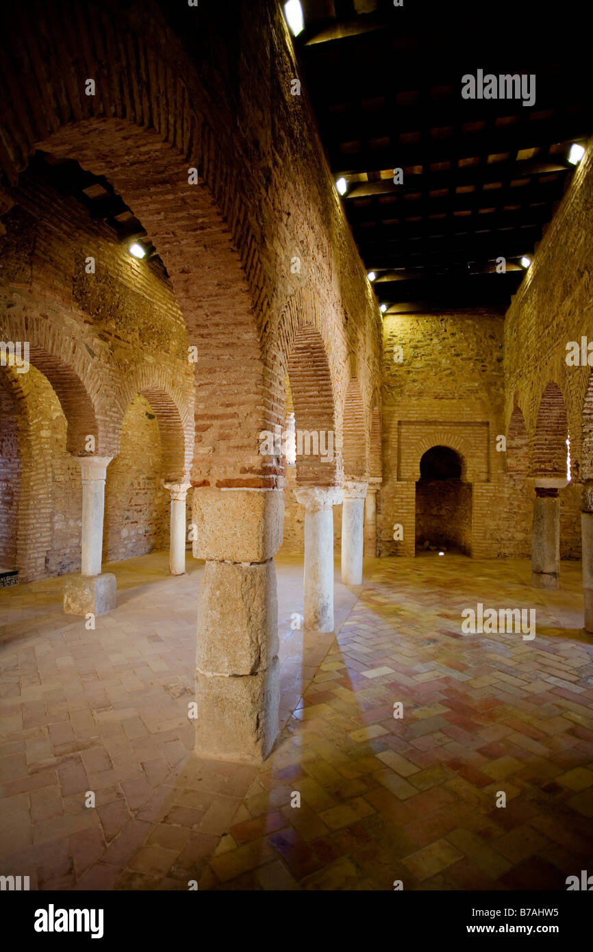 Arab Mosque Almonaster la Real National Park in the Sierra de Aracena and Picos de Aroche Huelva Andalusia Spain Stock Photo