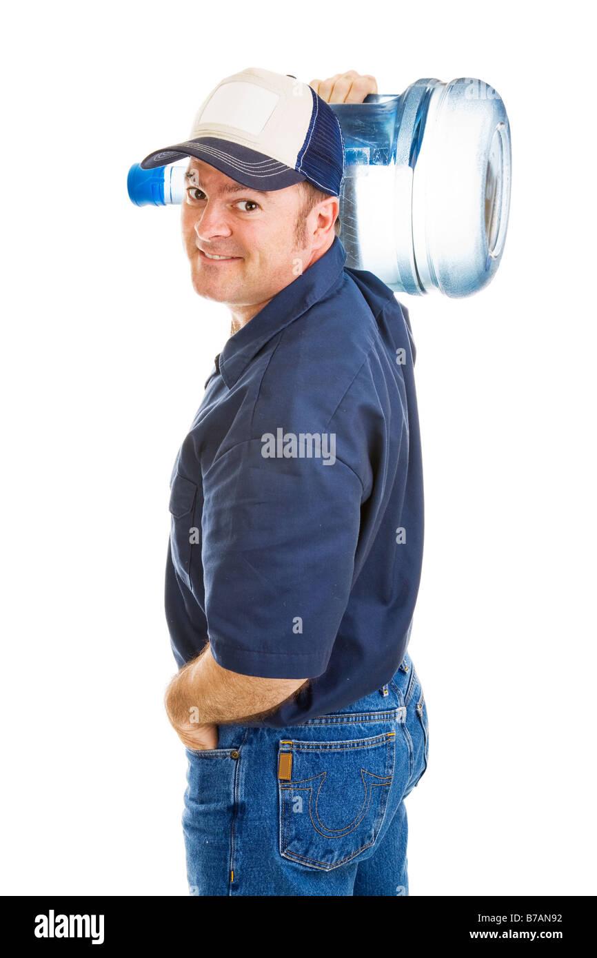 Man Carrying Water Jug Stock Photos Amp Man Carrying Water
