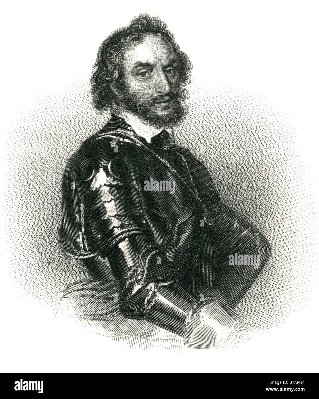 Thomas Howard, 21st Earl of Arundel, 4th Earl of Surrey and 1st Earl of Norfolk (7 July 1585–4 October 1646) was - Stock Image