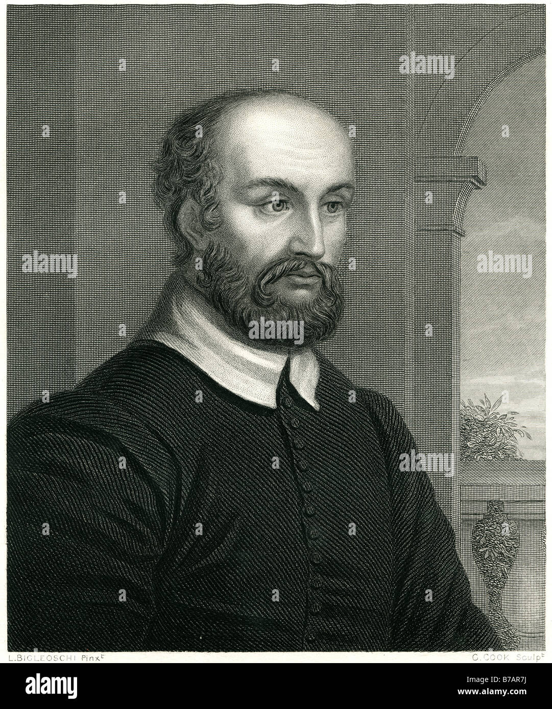 Andrea Palladio, (1518–80), 'the most influential architect of the whole Renaissance'', was, as a stone - Stock Image