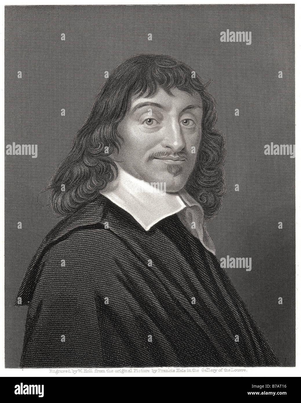 rene descartes René Descartes (31 March 1596 – 11 February 1650), also known as Renatus Cartesius (latinized form),[2] Stock Photo