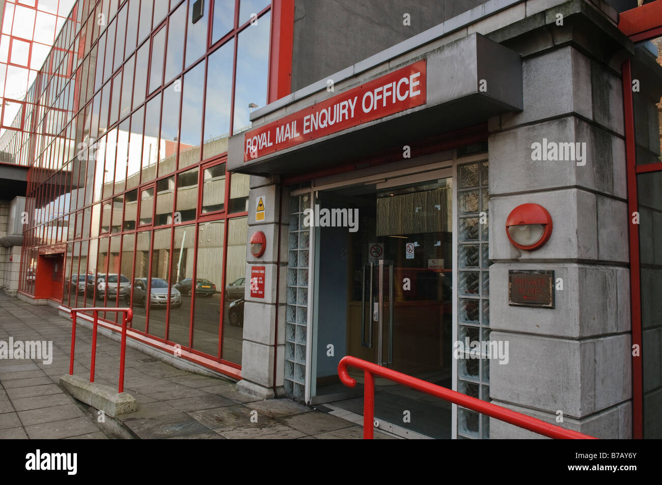 Royal Mail Enquiry Office, Belfast - Stock Image