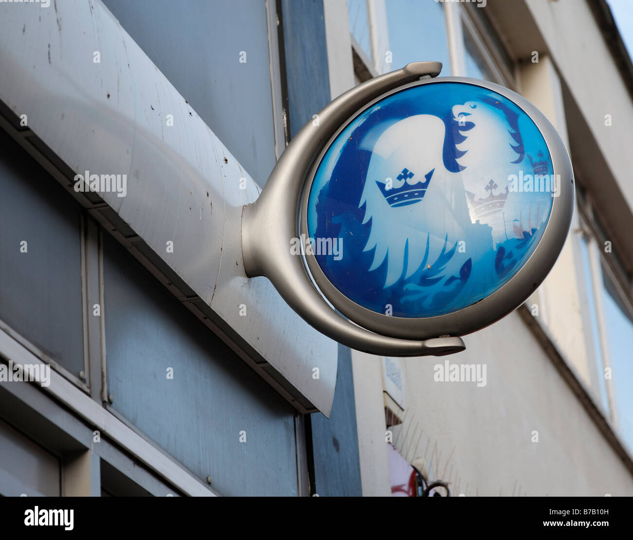 Barclays bank sign - Stock Image