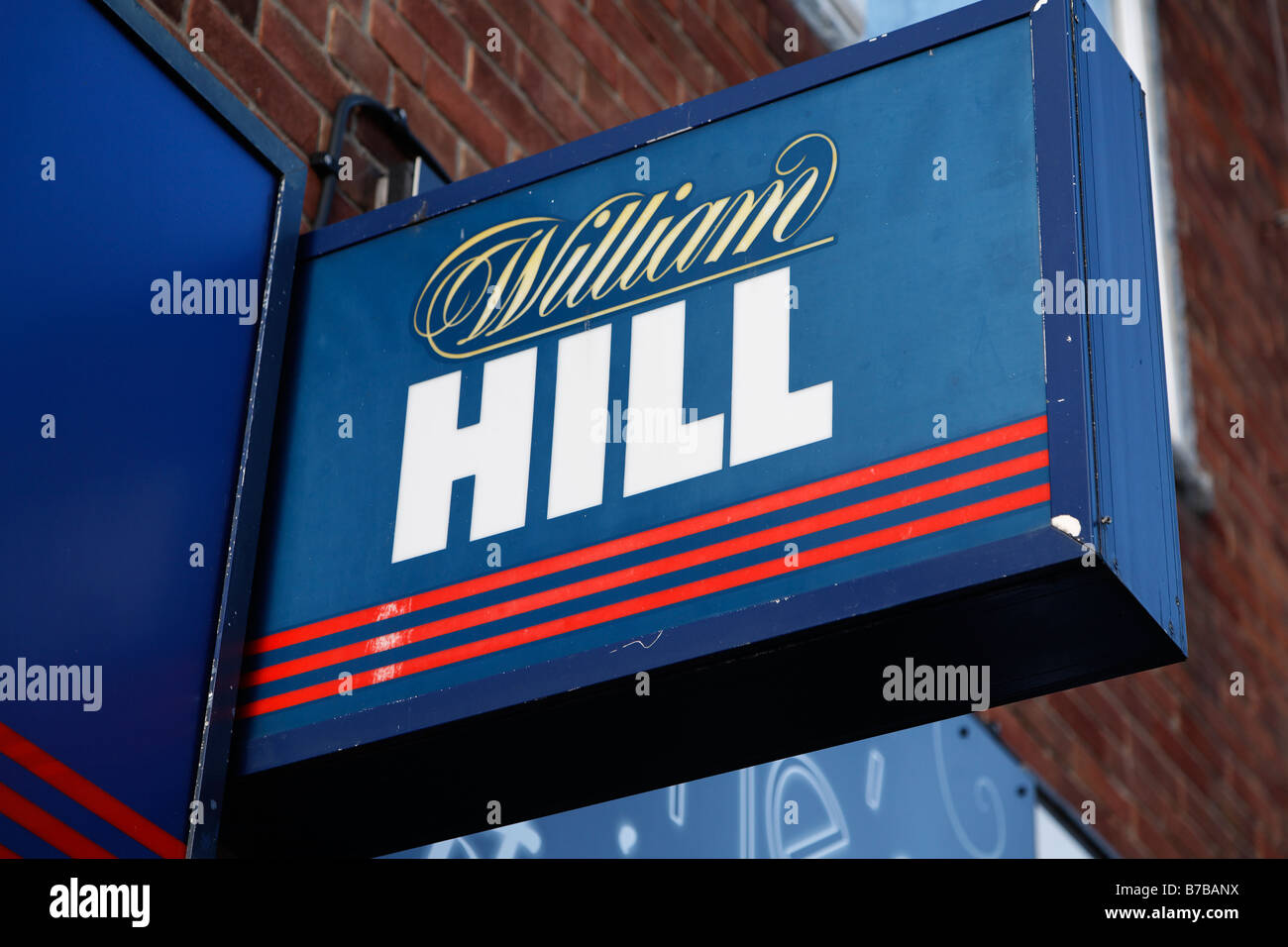 William Hill High street shops and shopping January 2009 - Stock Image