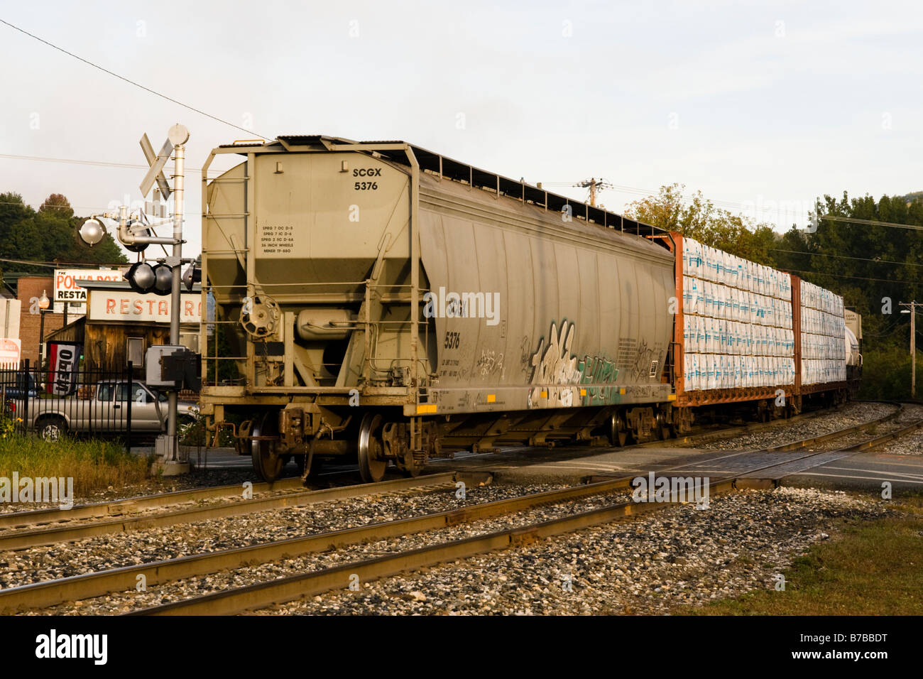 Switching Railroad Freight Cars Stock Photos Switching Railroad