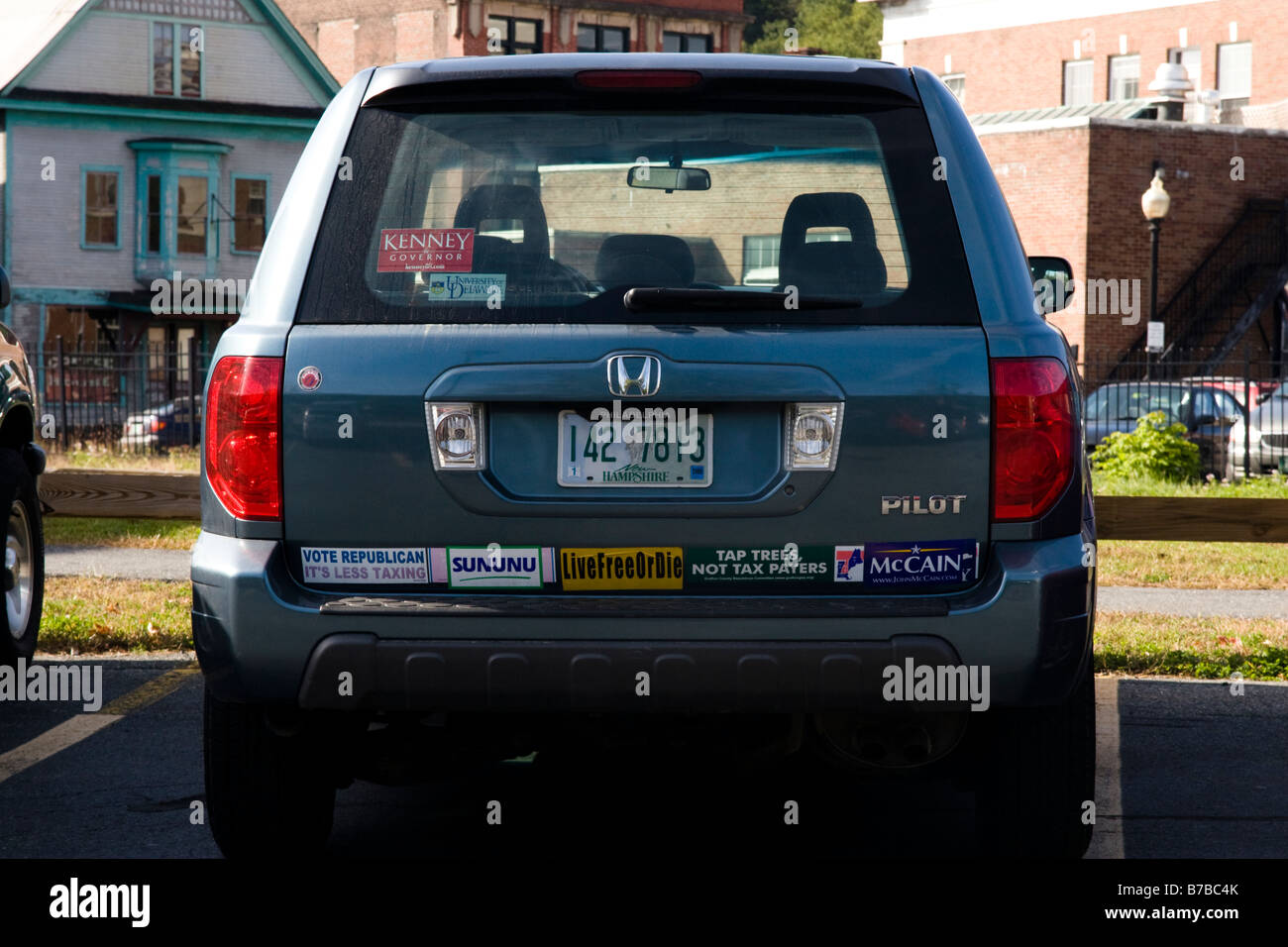 Bumper Stickers Usa Stock Photos & Bumper Stickers Usa Stock