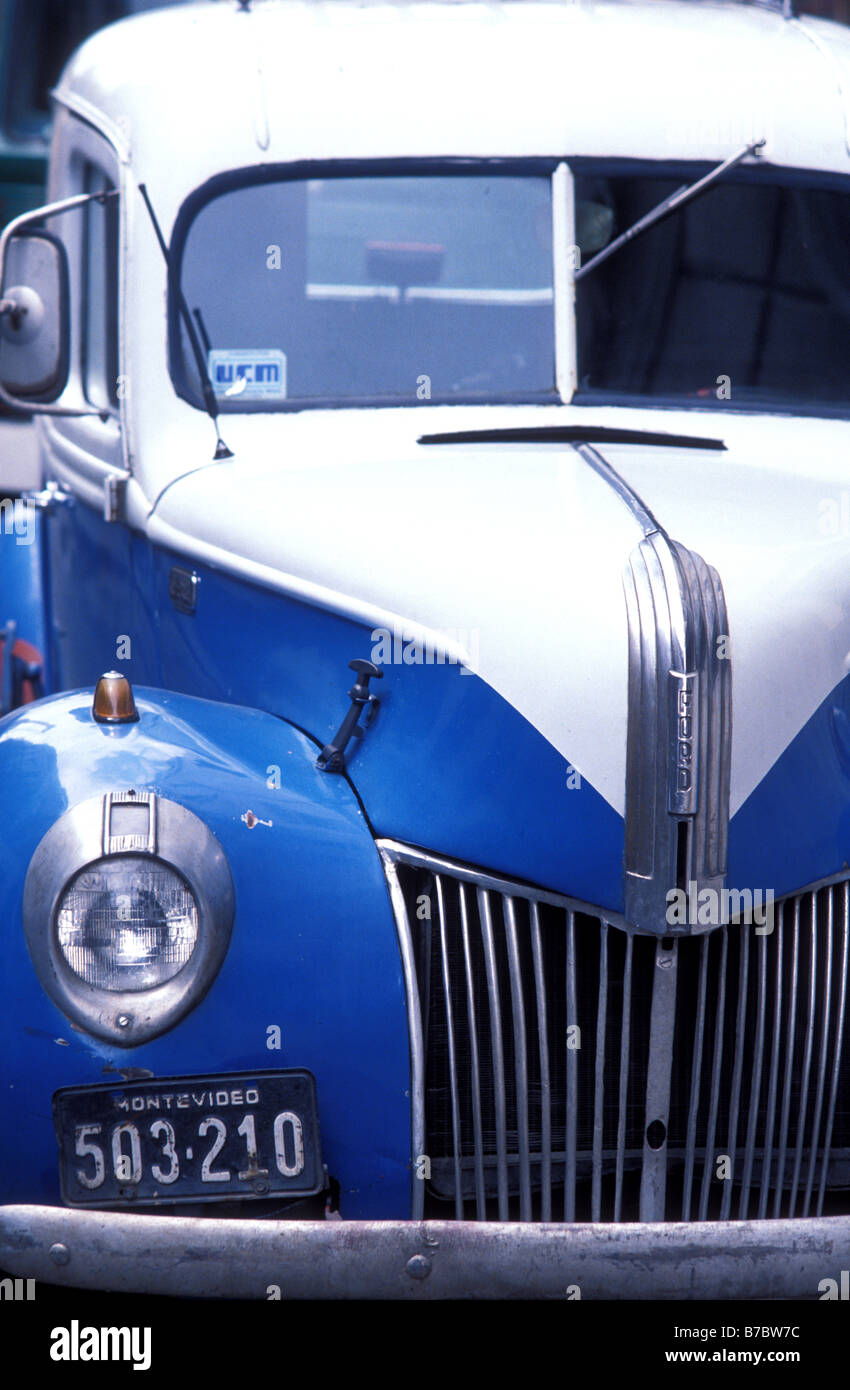 1938 ford v8 montevideo uruguay stock image