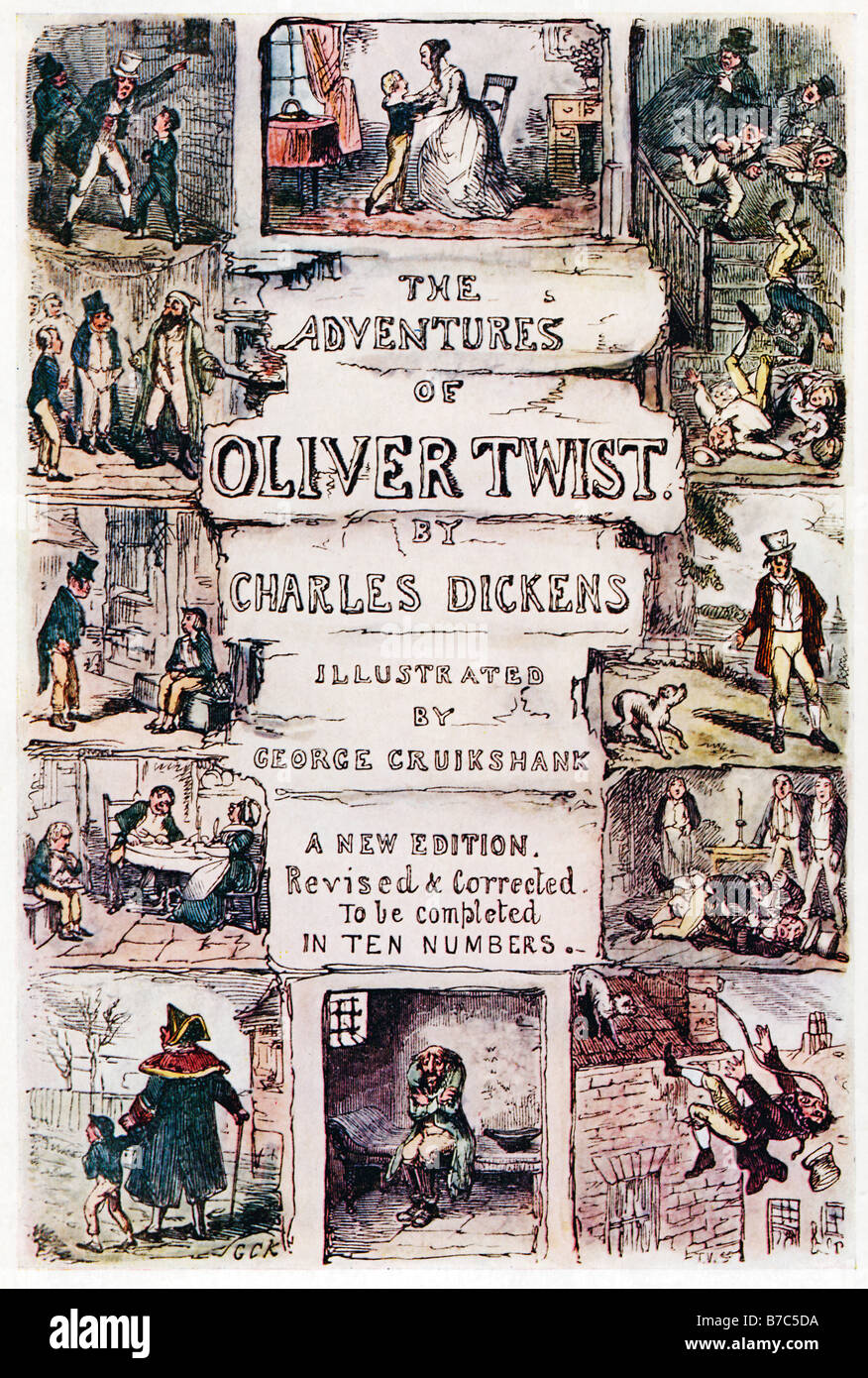 The Original Rider Waite Deck By Arthur Edward Waite: Oliver Twist Original Cover Of The Partwork By George