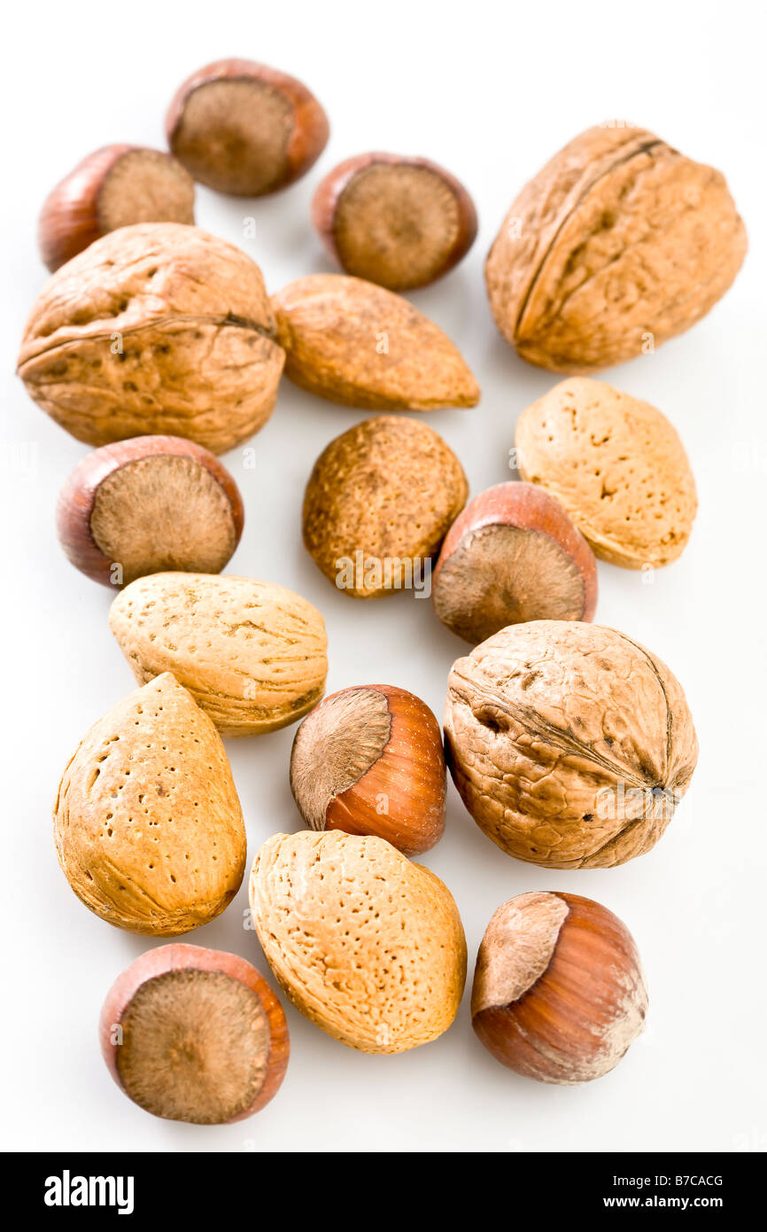 Mixed nuts - Stock Image