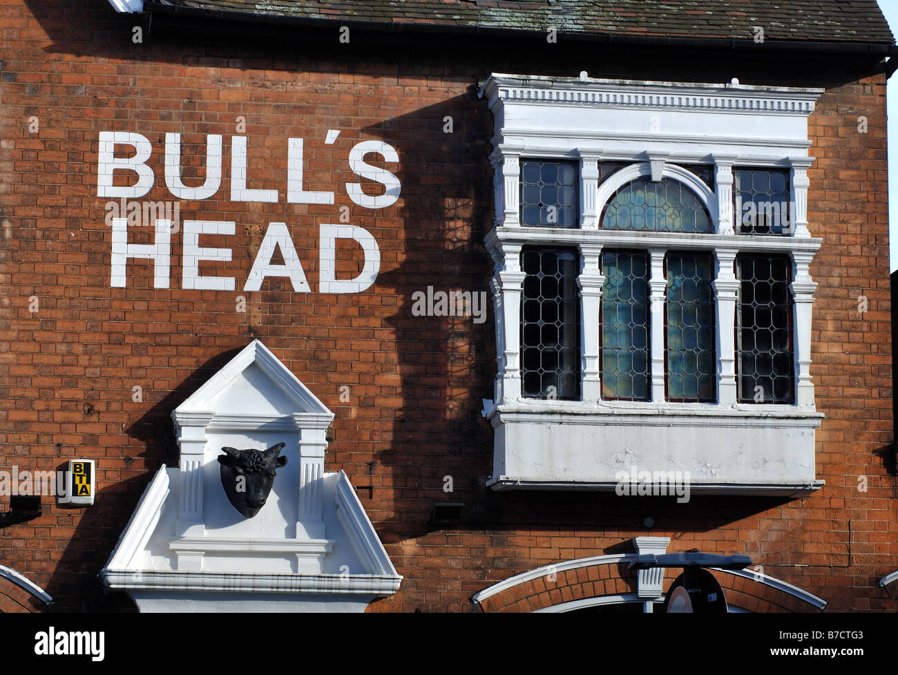 Bull`s Head pub, Moseley, Birmingham, England, UK Stock Photo