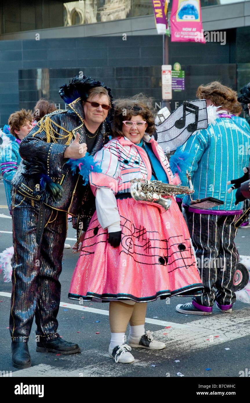 2009 Mummers Parade in Philadelphia - Stock Image