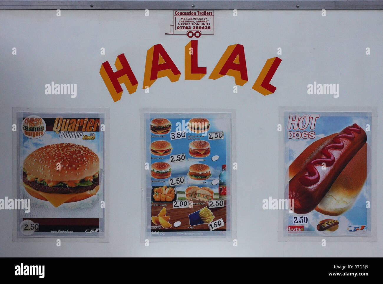 Halal Sign Stock Photos Amp Halal Sign Stock Images Alamy