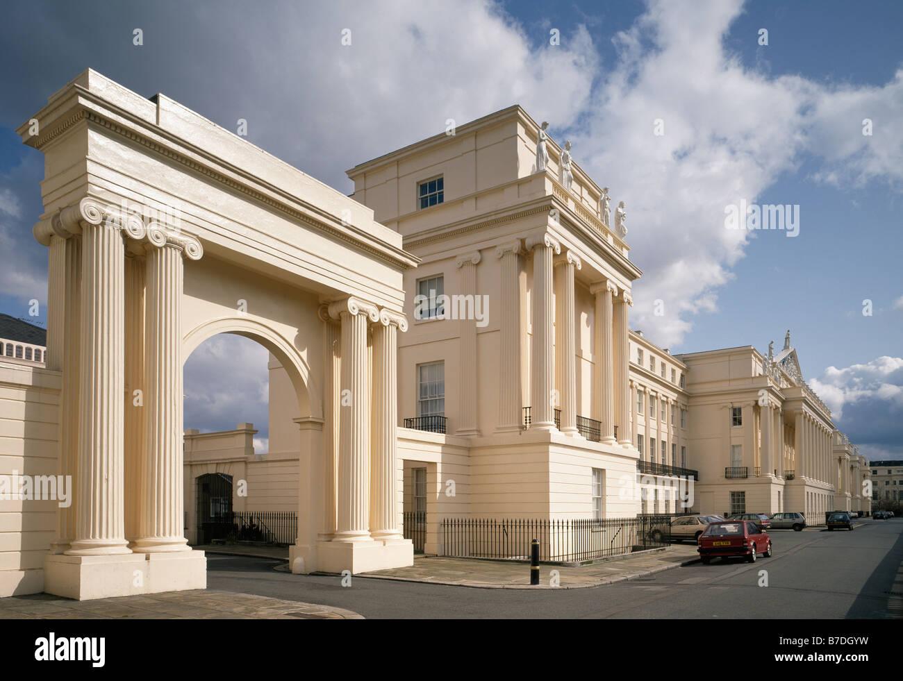 Cumberland Terrace Regents Park London Stock Photo