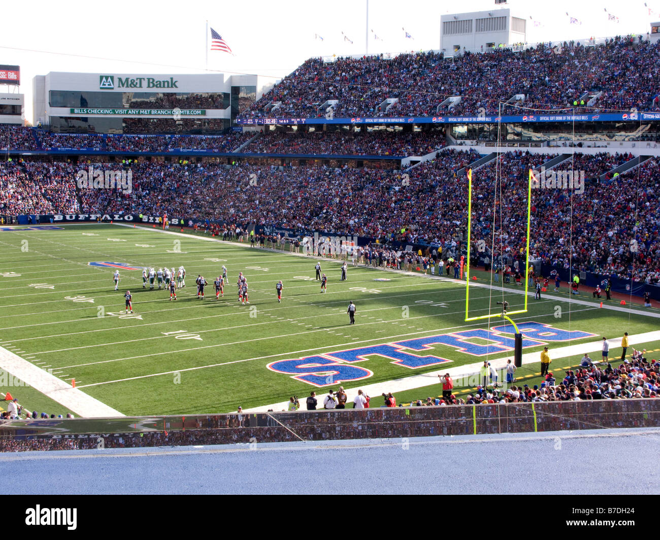 uk availability 6b0b9 48360 NFL Team Buffalo Bills Play At Home Against The New York ...