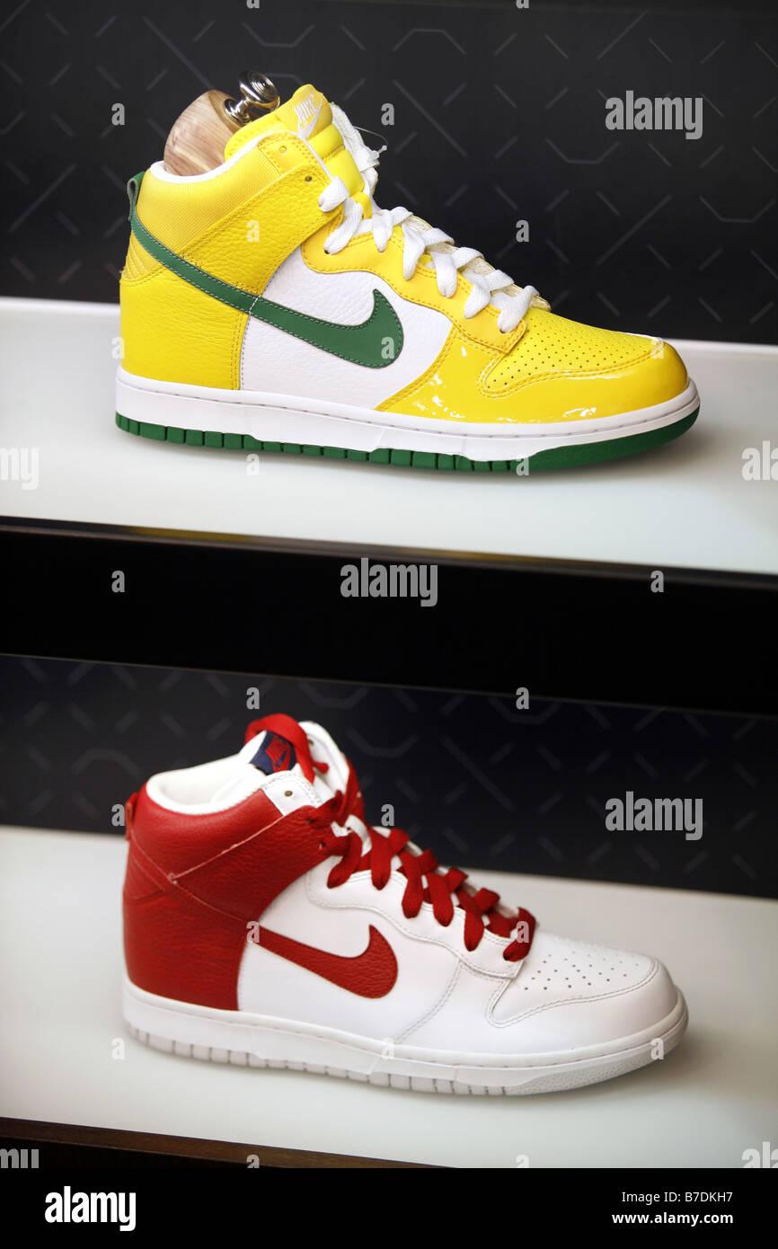 online retailer 128b6 8169c Basketball Shoes, Nike Store, Harlem, New York City, USA