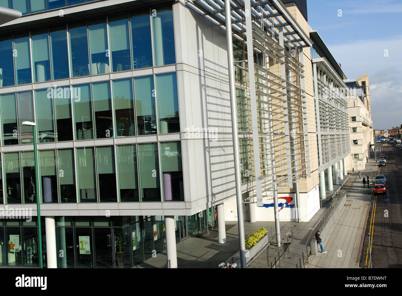 Capital One Buildings Nottingham. - Stock Image