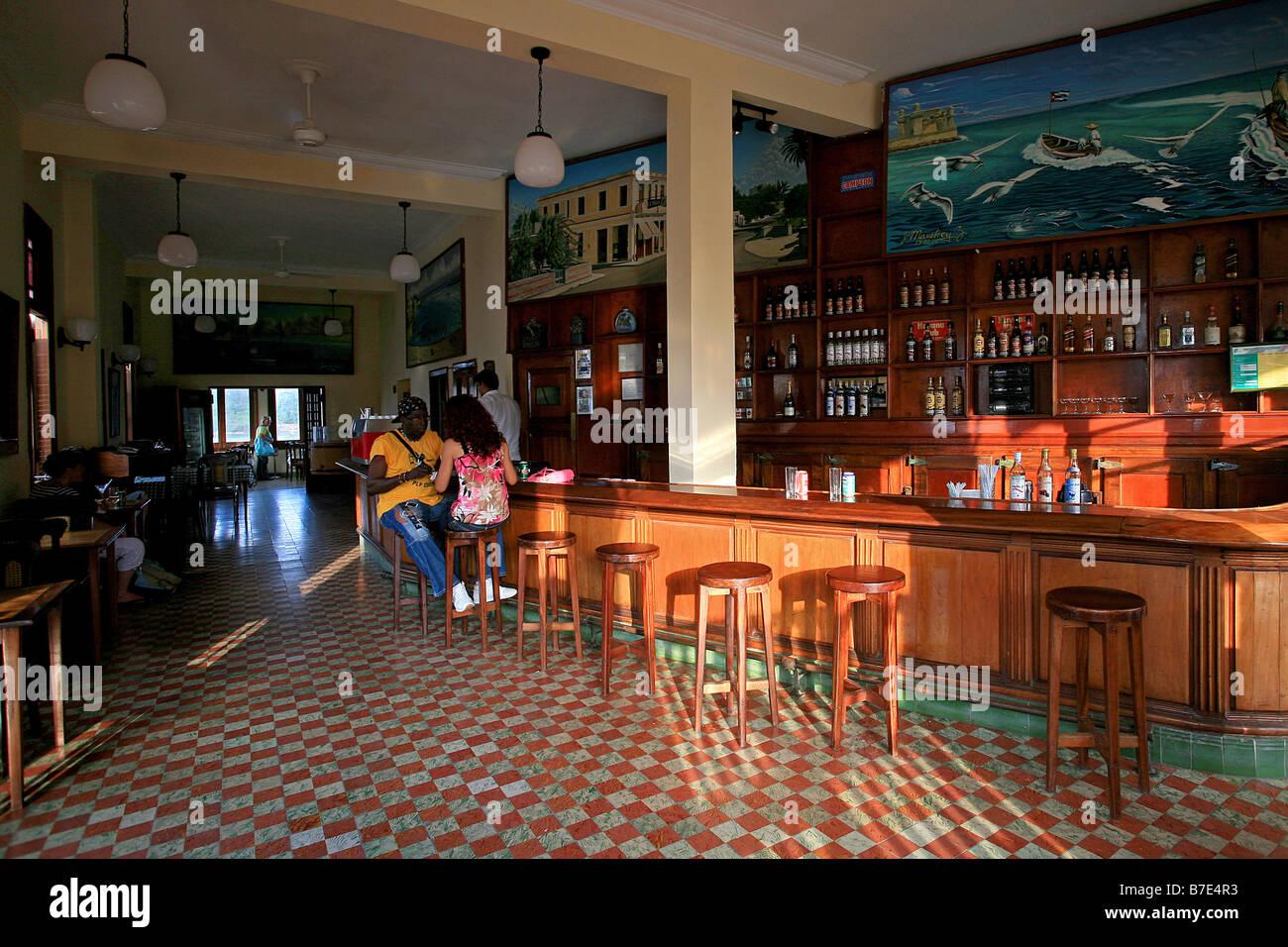 Cuba Cojimar Restaurant La Terraza Stock Photos Cuba
