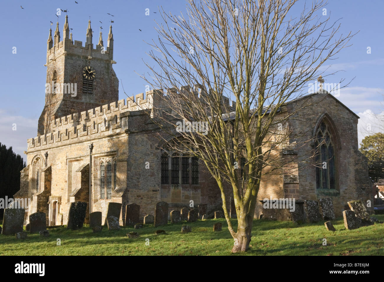 St James's church Somerton Oxfordshire England UK - Stock Image