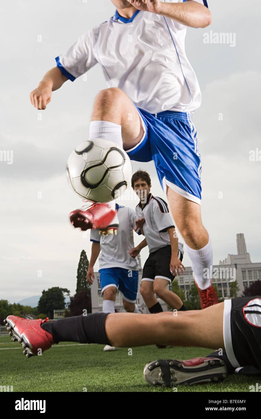 Football match - Stock Image