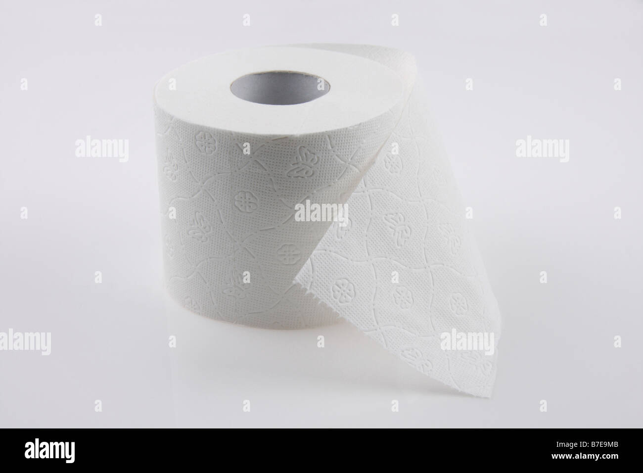 clip image roll of toilet paper editorial use only Stock Photo