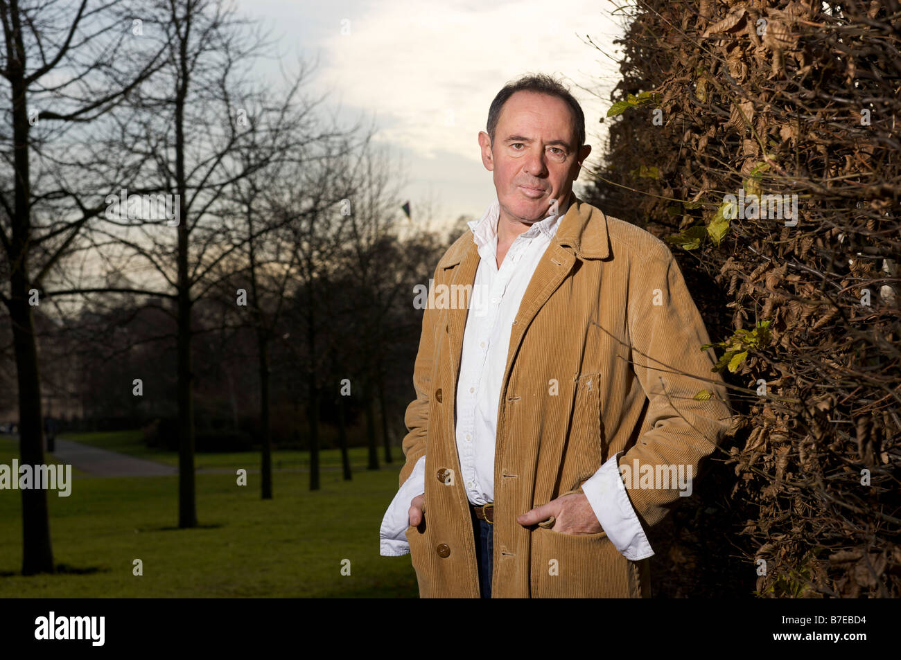 Author eco campaigner and documentary maker Nick Rosen - Stock Image