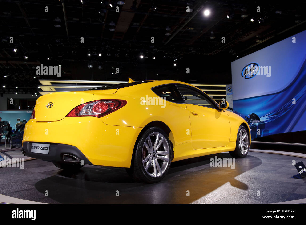 2009 Hyundai Genesis Coupe At The 2009 North American International Auto  Show In Detroit Michigan USA.