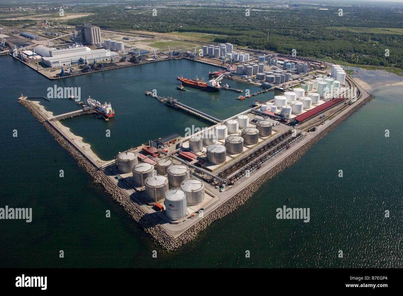 d8fb8af8cbc Port of Tallinn at Muuga, Estonia, Europe Stock Photo: 21833452 - Alamy