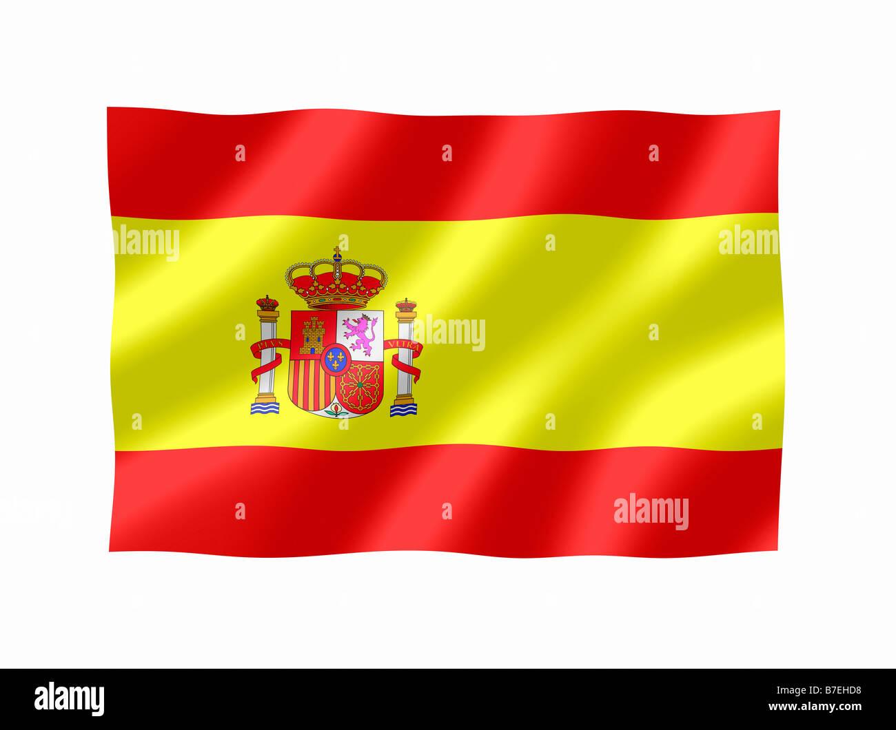 Spain Spanish National Flag Stock Photo: 21833988 - Alamy