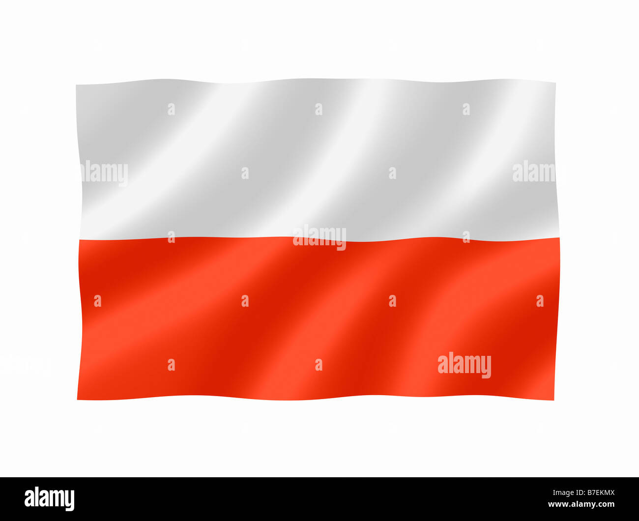 poland polish national flag stock photo 21835770 alamy