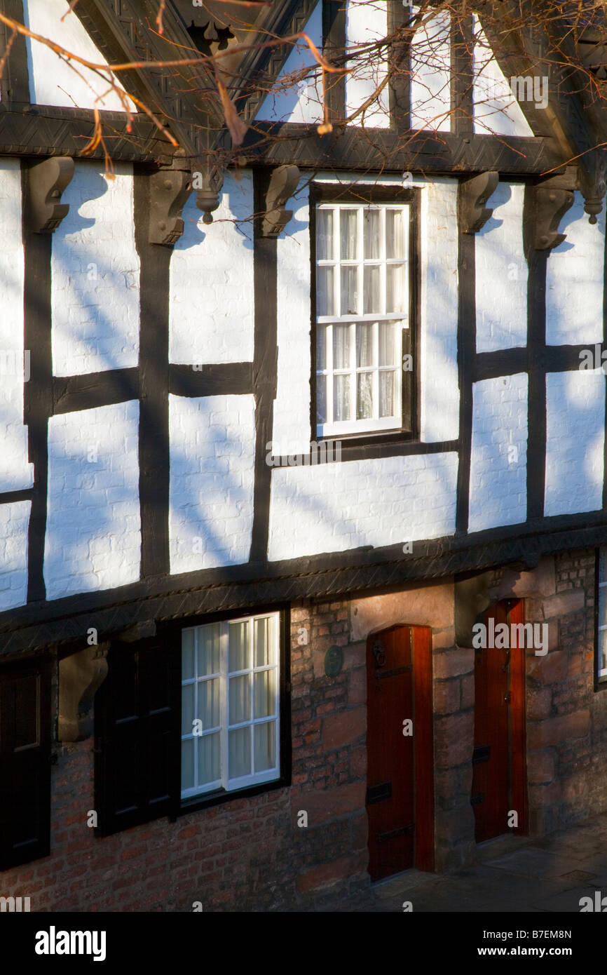 One of the nine hosues in Chester - Stock Image