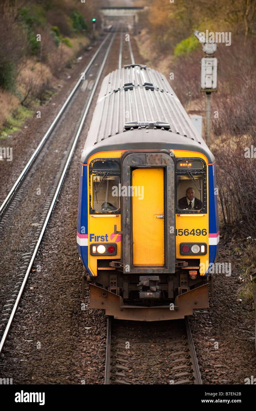 Commuter train - Stock Image