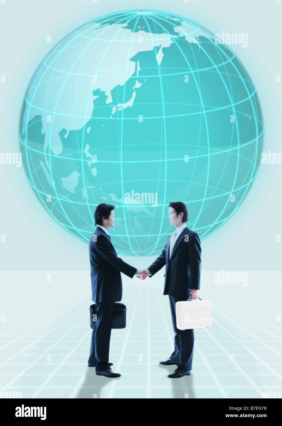 Image of global business relation - Stock Image