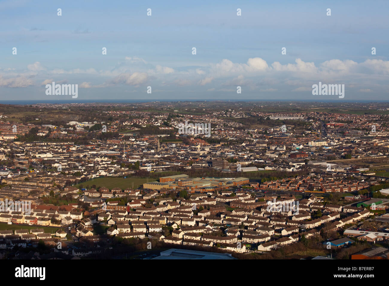 Newtonards town, County Down, Northern Ireland, UK - Stock Image