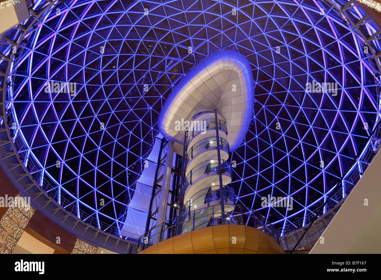 Victoria Square shopping centre, Belfast, Northern Ireland, UK - Stock Image