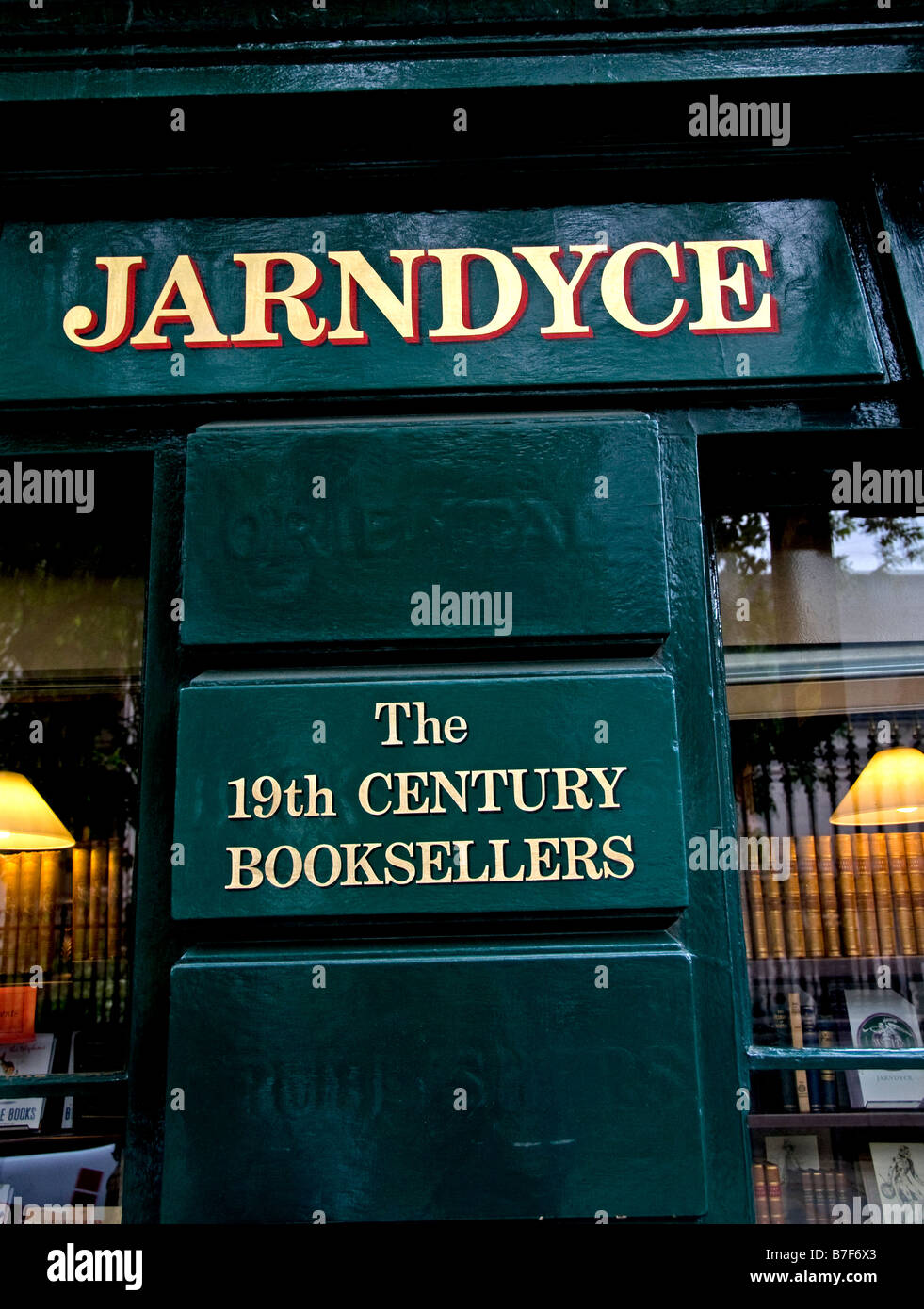 London Jarndyce The 19th Century Booksellers - Stock Image