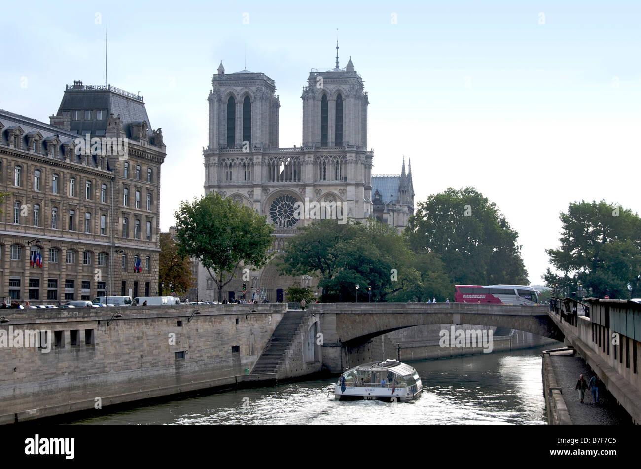 Notre Dame de Paris. France - Stock Image