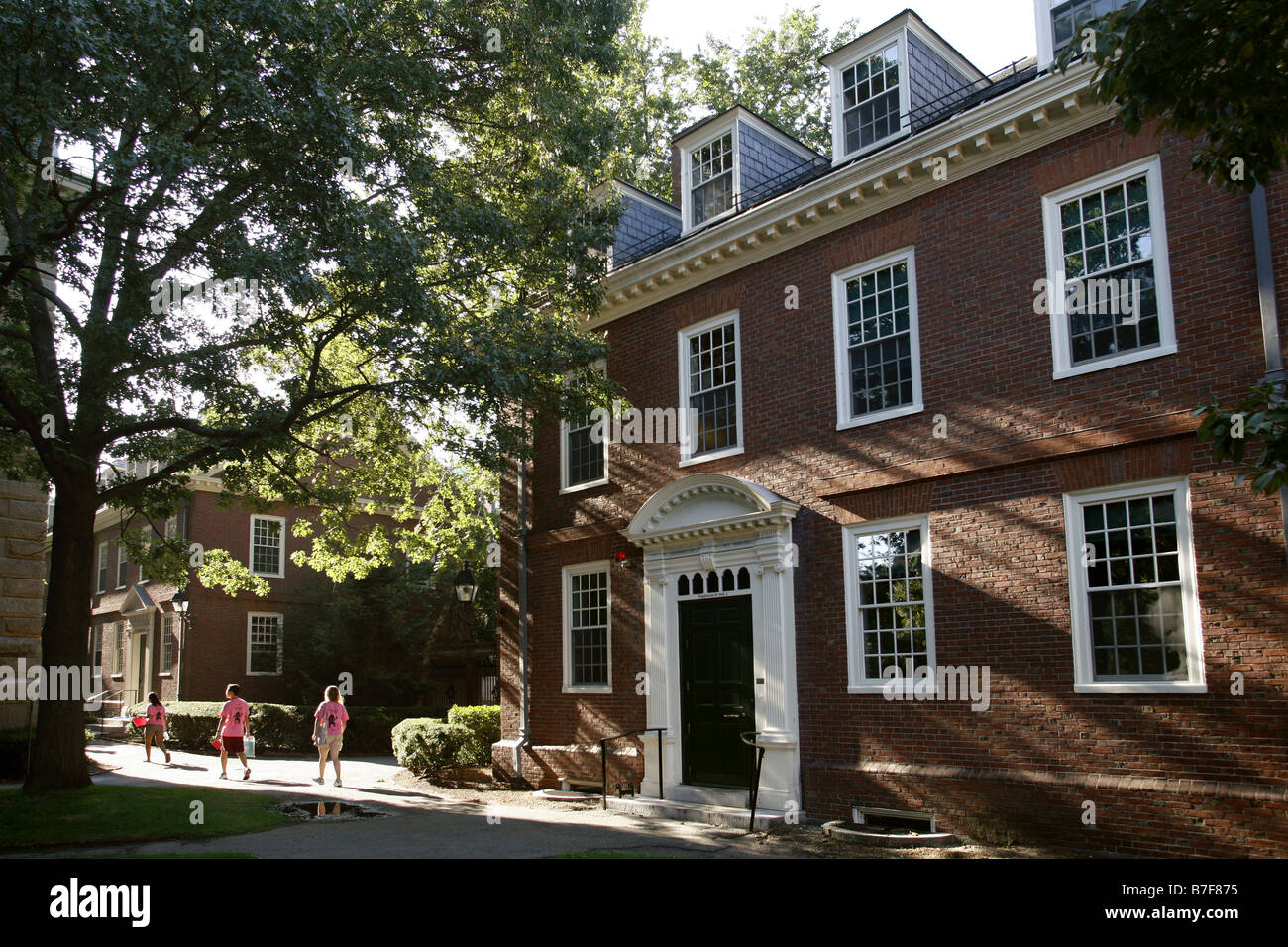 Accommodations, Harvard University, Cambridge, Massachusetts, USA - Stock Image