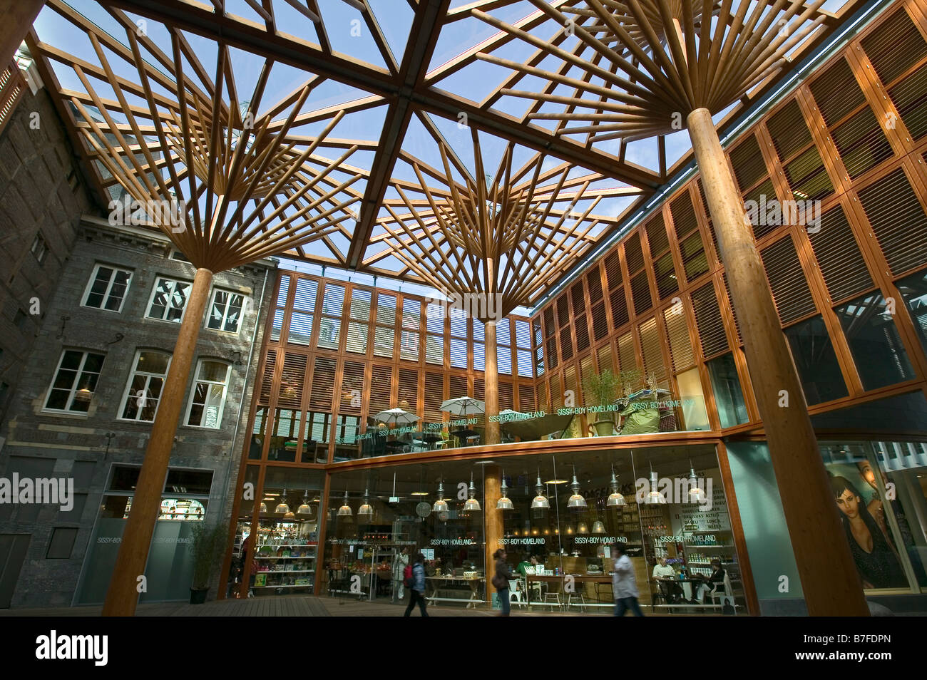 Shopping Center In Maastricht Netherlands Europe Stock Photo